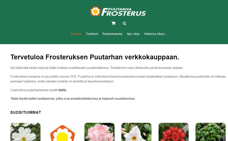 Frosteruksen kauppa
